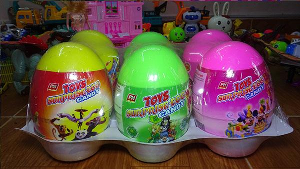 Trứng đồ chơi Thái Lan giá rẻ