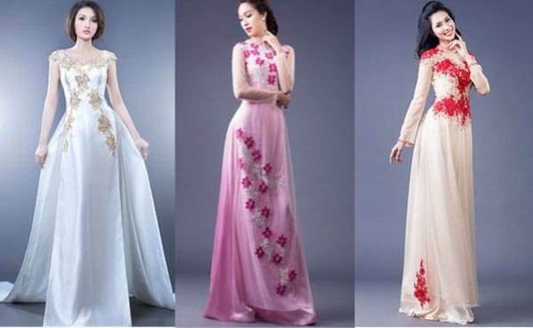 Nhập vải áo dài Thái Lan