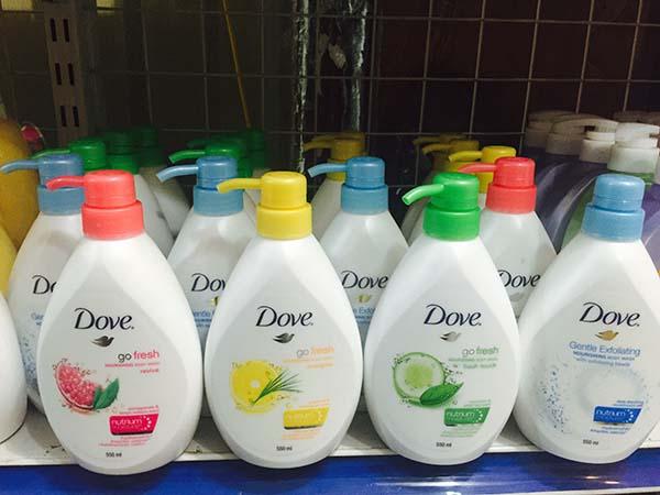Sữa tắm Dove Thái Lan