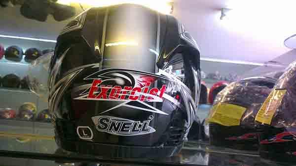 Nhập mũ bảo hiểm Snell