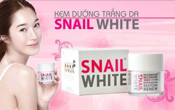 Kem trắng da Thái Lan Snail White