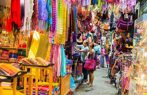 Mua quần áo ở Thái Lan