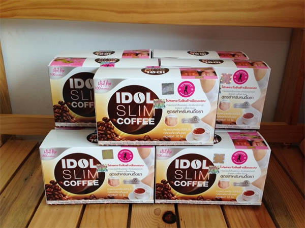 Đặt mua cafe Idol Slim