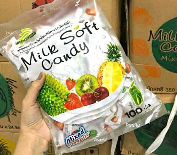 Nhập kẹo trái cây Thái Lan