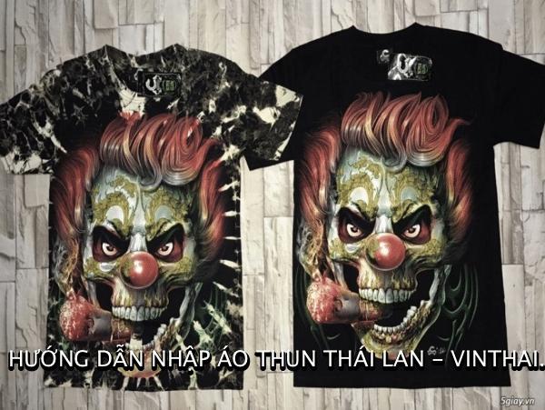 Hướng dẫn nhập áo phông Thái Lan