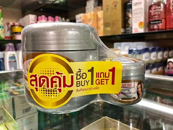 Kem ủ tóc nhân sâm và tảo biển Thái Lan