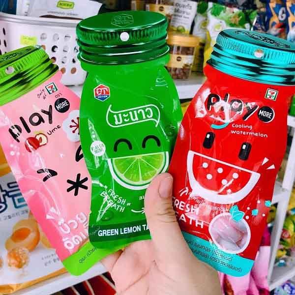 Kẹo Play Thái Lan có nhiều hương vị ngon