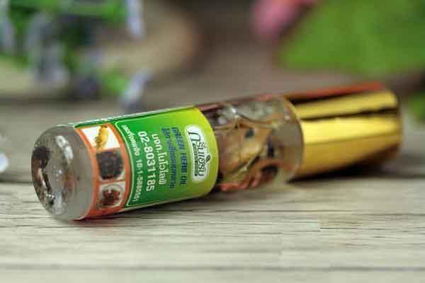 Dầu lăn Thái Lan có mùi thm7 dịu nhẹ