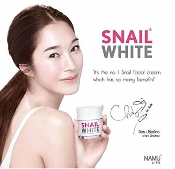 Kem dưỡng trắng da Snail White