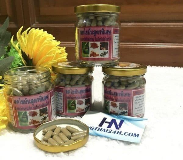 Thuốc giảm mỡ bụng đông y Thái Lan đang là sản phẩm được ưa chuộng