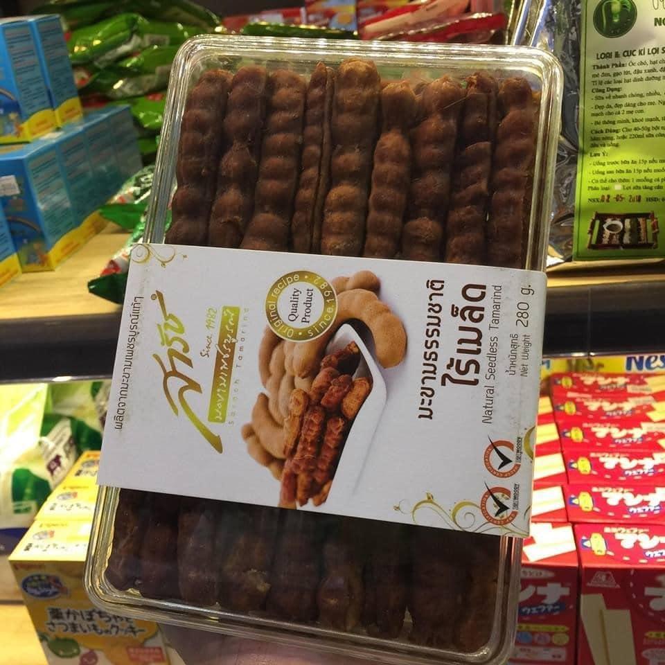 Me Thái là sản phẩm bánh kẹo rất được ưa chuộng tại Việt Nam