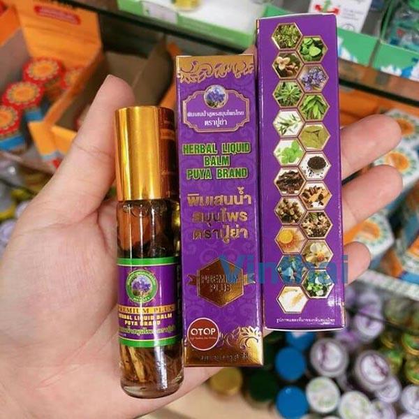 Dầu 19 loại thảo dược Thái Lan