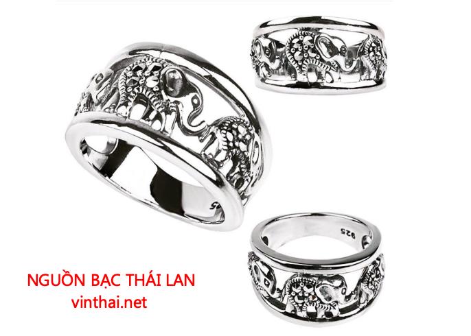Bạc Thái Lan luôn gây ấn tượng về mẫu mã, phong cách và các đường nét tinh tế
