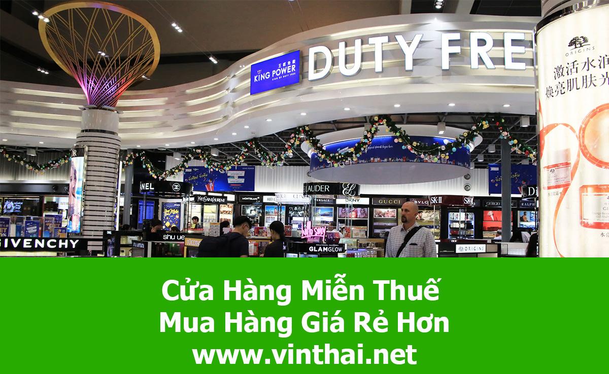 Cửa hàng miễn thuế Duty Free Shop