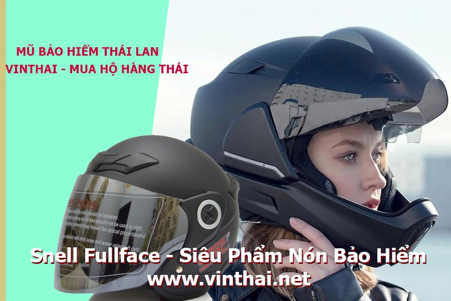 Siêu phẩm nón bảo hiểm Thái Lan