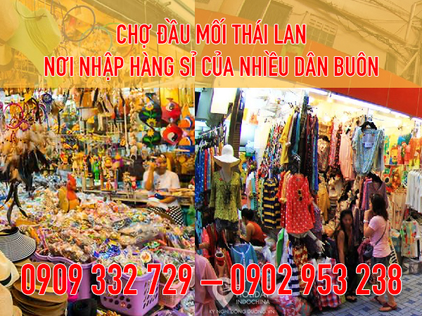 Kinh nghiệm buôn hàng Thái Lan - đi đến chợ đầu mối