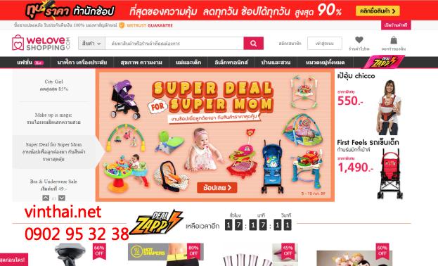 Nhập hàng Thái Lan chính hãng online