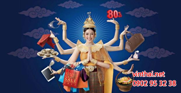 Săn sale hàng Thái Lan chính hãng