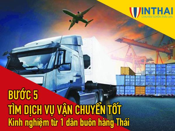Tìm nhà vận chuyển uy tín giúp bạn an tâm trong việc nhập hàng Thái Lan