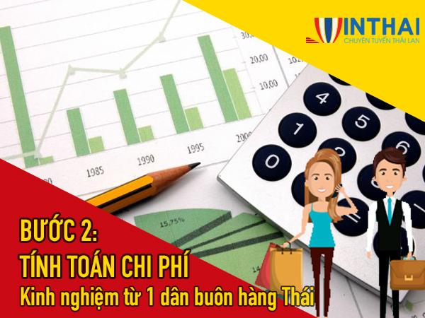 Dự trù kinh phí chi tiết trước khi đi Thái Lan lấy hàng